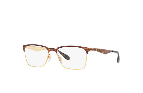 Ray-Ban 0RX6344-RB6344 Havana,Gold OPTICAL