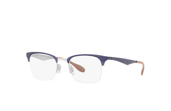 Ray-Ban 0RX6360-RB6360 Violet,Silver OPTICAL