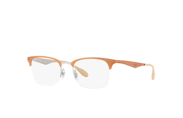 Ray-Ban 0RX6360-RB6360 Marrón,Plata OPTICAL