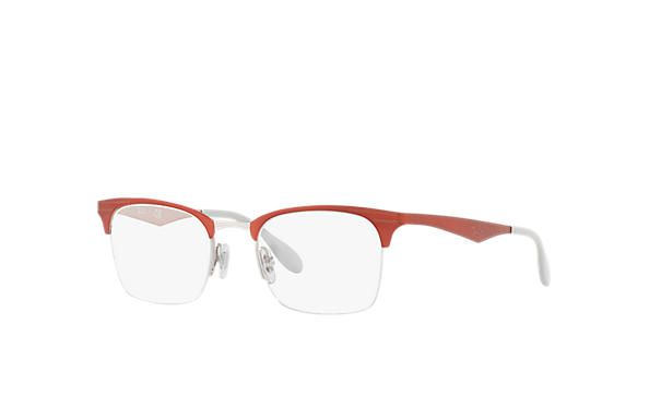 Ray-Ban 0RX6360-RB6360 Red,Silver OPTICAL