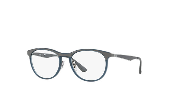Ray-Ban 0RX7116-RB7116 Blue; Gunmetal,Grey OPTICAL