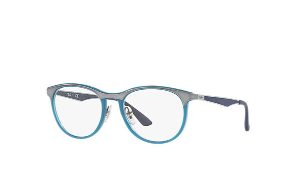 Ray-Ban 0RX7116-RB7116 Blue; Gunmetal,Blue OPTICAL