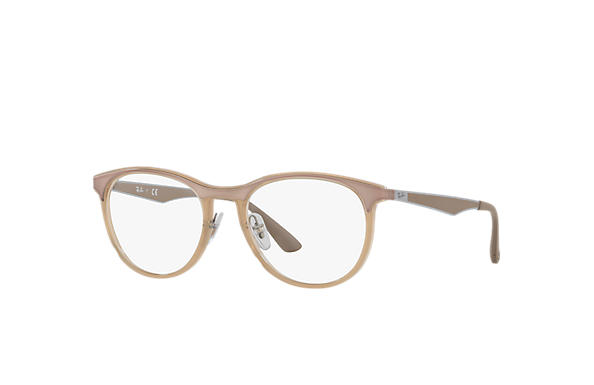 Ray-Ban 0RX7116-RB7116 Marrone Chiaro; Canna di fucile,Marrone Chiaro OPTICAL