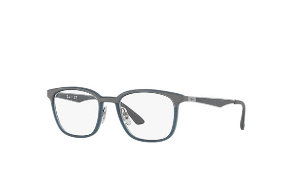 Ray-Ban 0RX7117-RB7117 Blue; Gunmetal,Grey OPTICAL