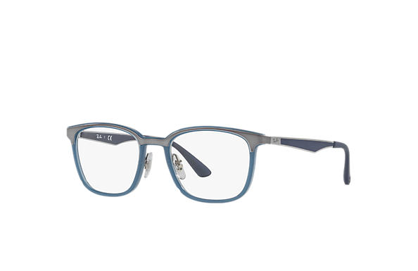 Ray-Ban 0RX7117-RB7117 Bleu; Gun,Bleu OPTICAL