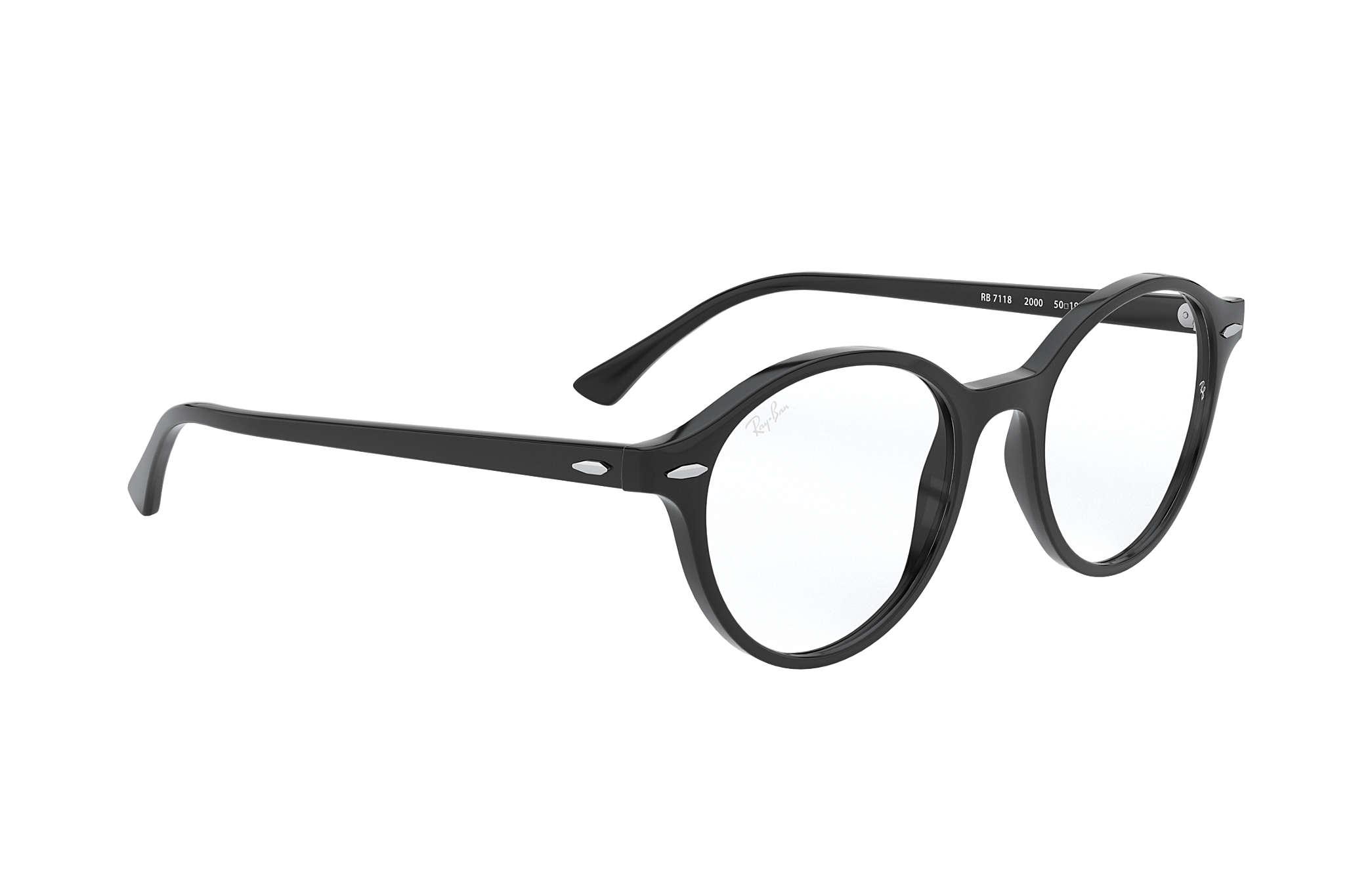 76dc0809824 Ray-Ban eyeglasses Dean RB7118 Black - Propionate - 0RX7118200050 ...