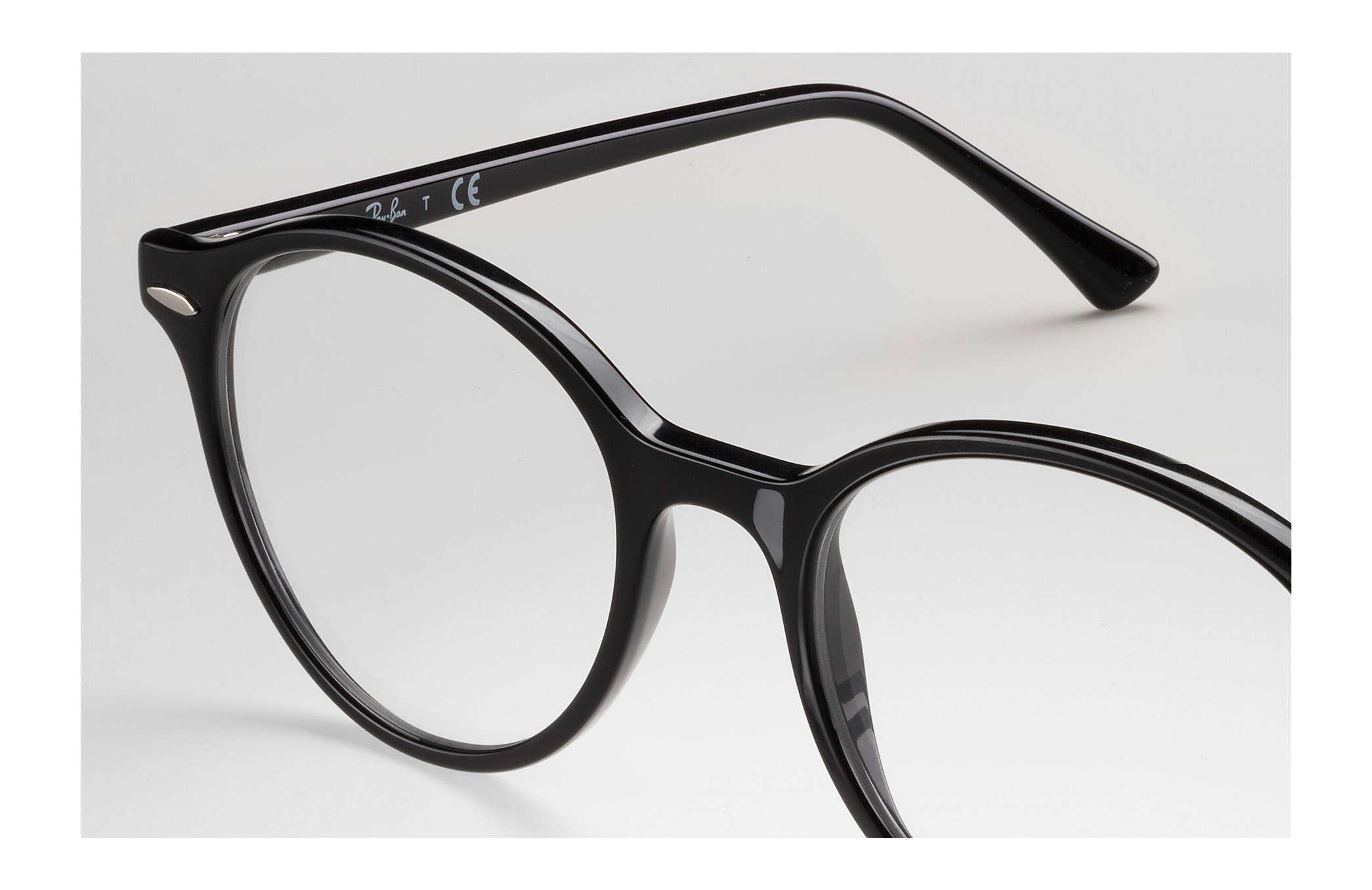 6aa04fb9d9f29 Ray-Ban prescription glasses Dean RB7118 Black - Propionate ...