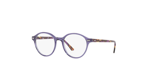 bad8e9c4a8 Ray-Ban prescription glasses Dean RB7118 Violet - Propionate -  0RX7118802050