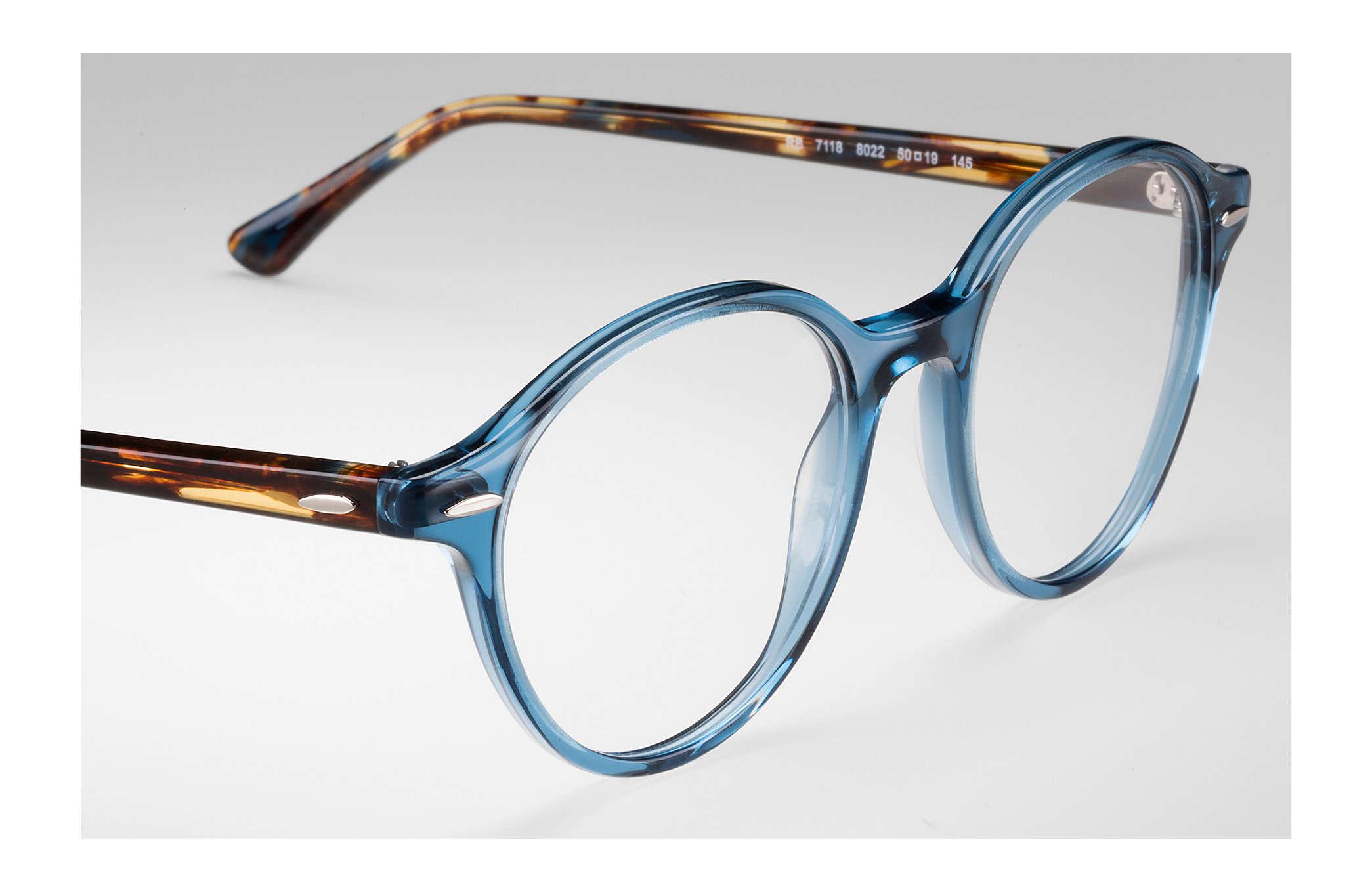 186974c846e Ray-Ban prescription glasses Dean RB7118 Blue - Propionate ...