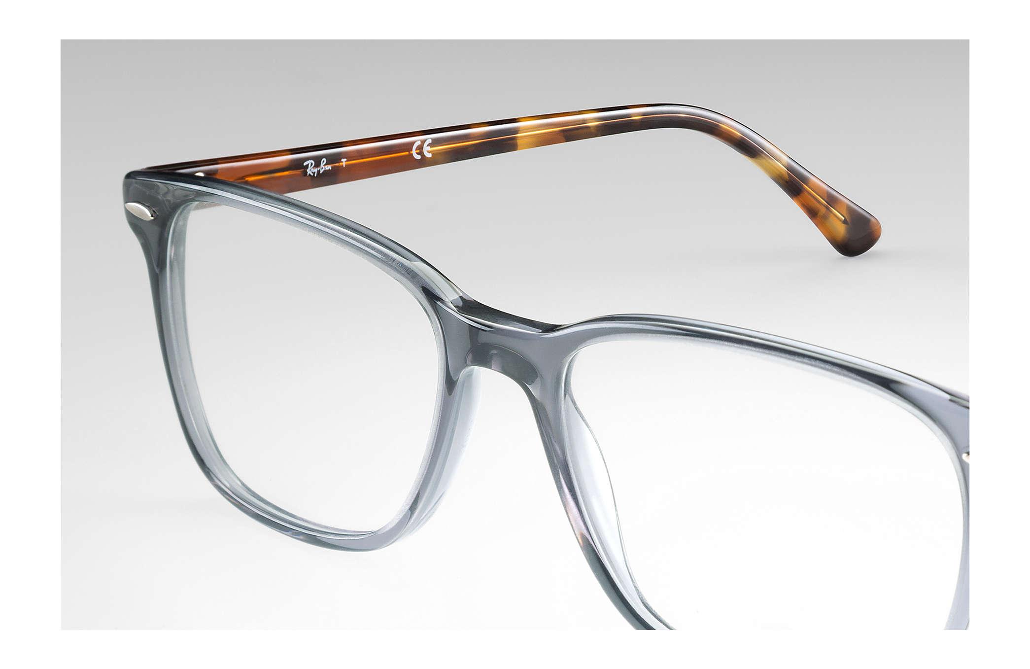 e6f3739f46 Ray-Ban prescription glasses RB7119 Grey - Propionate ...