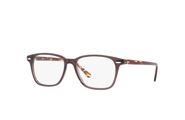 Ray-Ban 0RX7119-RB7119 Brown; Red OPTICAL