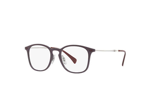 Ray-Ban 0RX8954-RB8954 Bordeaux; Argento OPTICAL