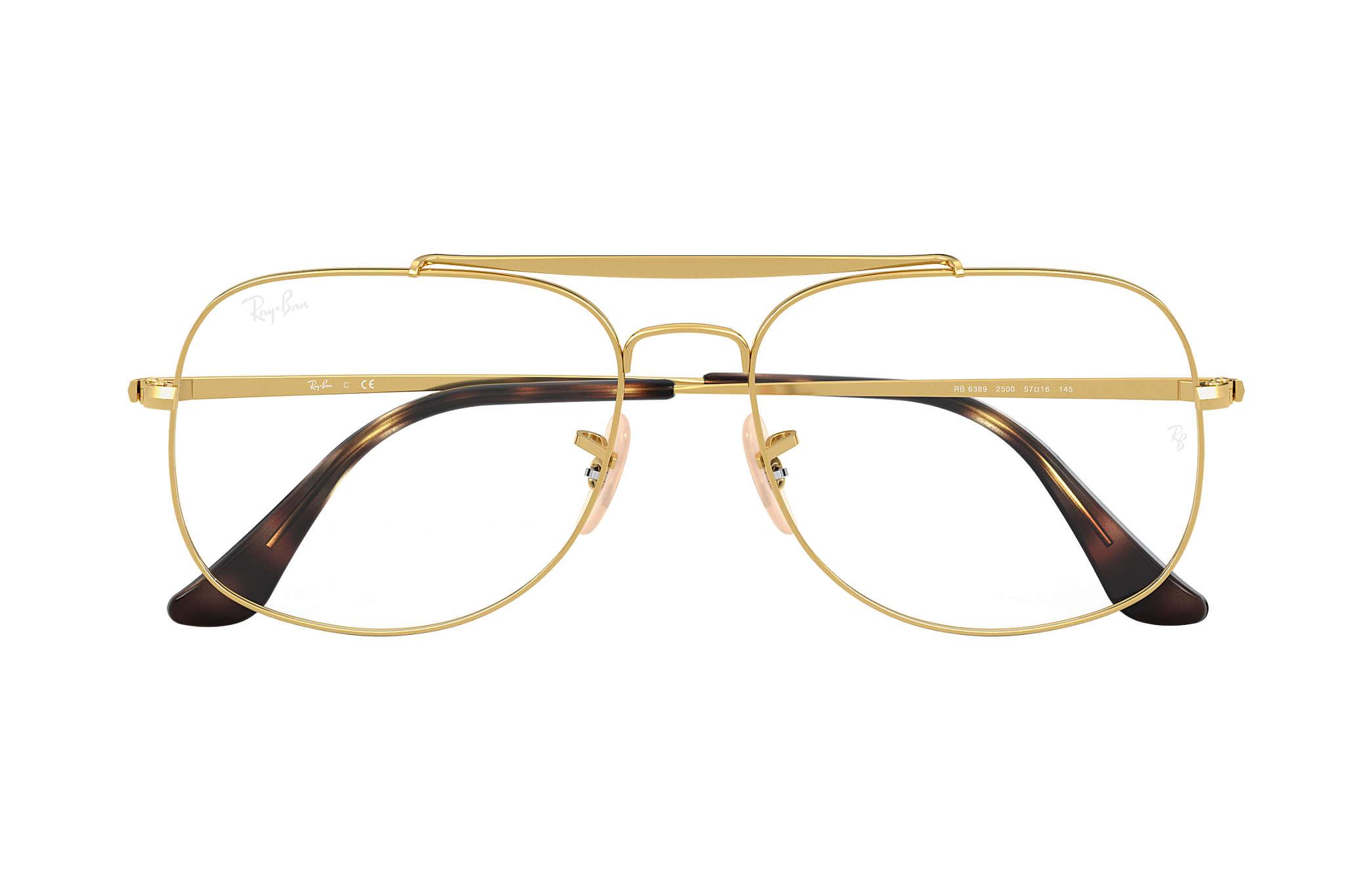 f2d71b0d3d Ray-Ban eyeglasses General Optics RB6389 Gold - Metal ...