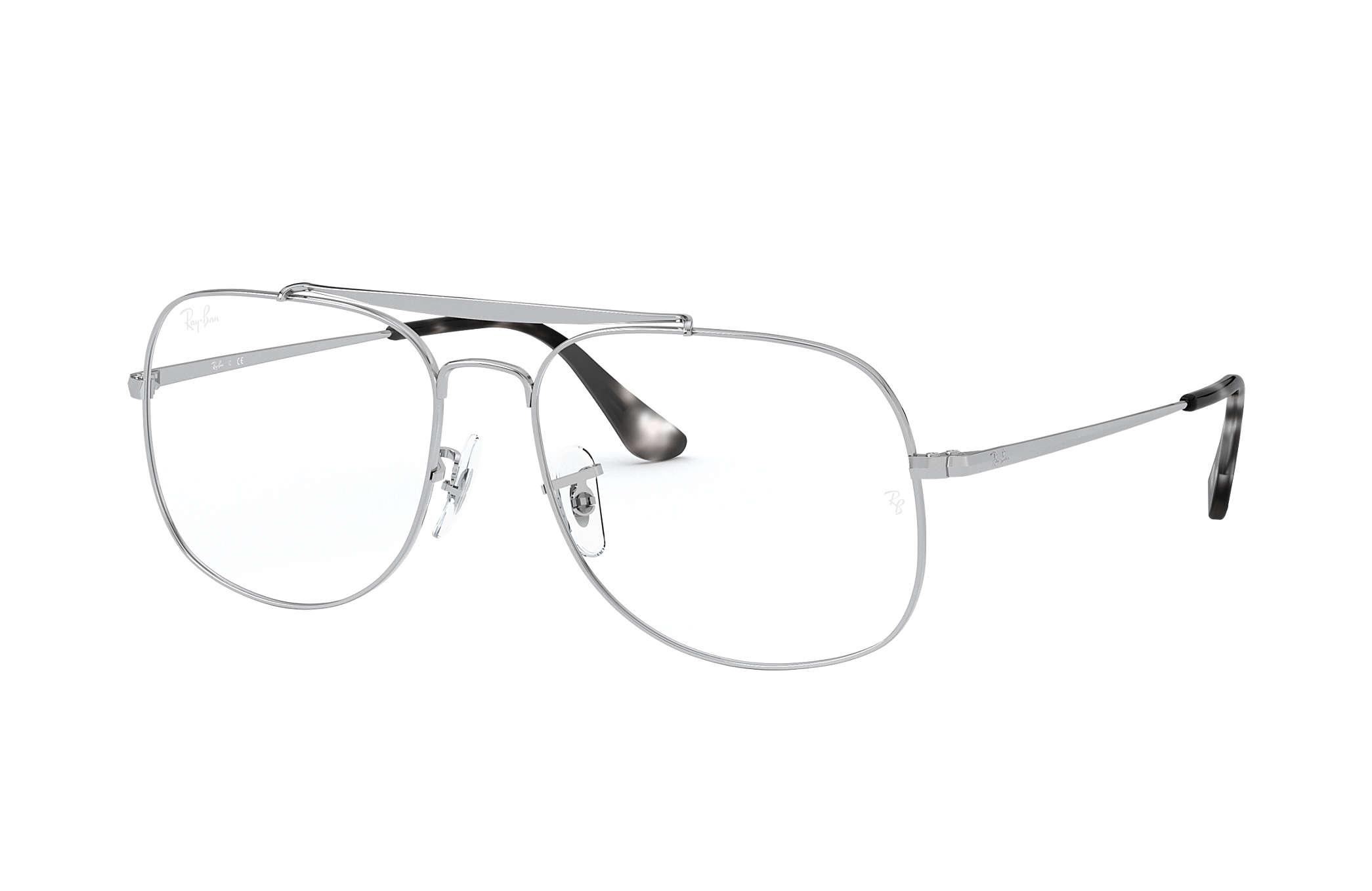 Ray-Ban prescription glasses General Optics RB6389 Silver - Metal ...