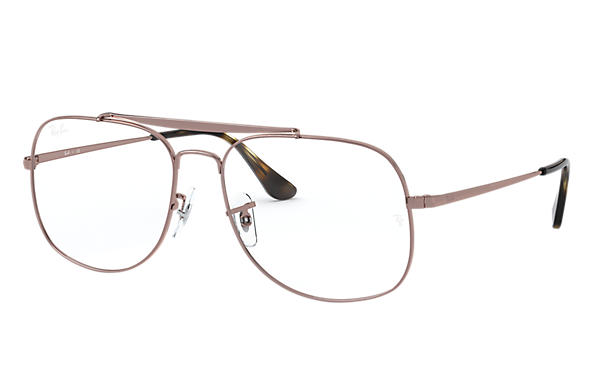 Ray-Ban 0RX6389-GENERAL OPTICS Light Brown OPTICAL