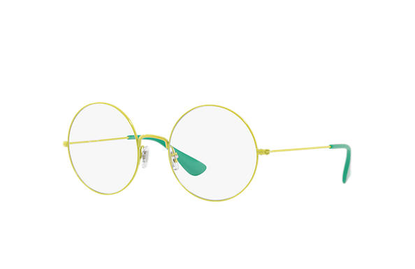 4c6d2952fea Ray-Ban prescription glasses Ja-jo Optics RB6392 Yellow - Metal ...