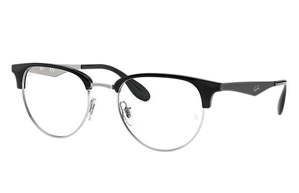 Ray-Ban 0RX6396-RB6396 Silver; Black,Silver OPTICAL