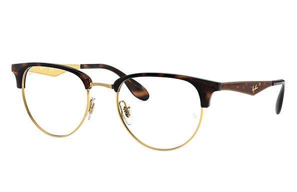 b4040812041 Ray-Ban prescription glasses RB6396 Gold - Metal - 0RX6396293353 ...