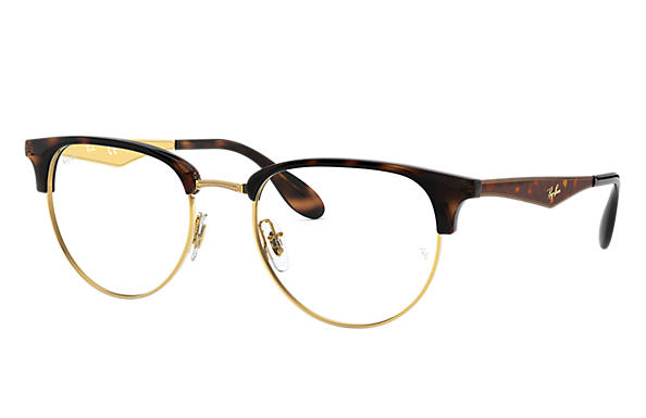 9a78ed371a Ray-Ban prescription glasses RB6396 Gold - Metal - 0RX6396293353 ...