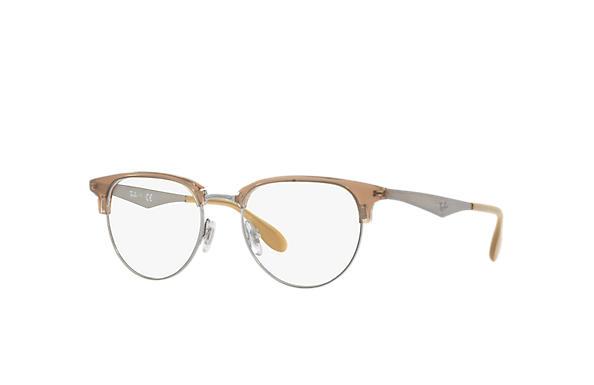 5ee1454ef9 Ray-Ban prescription glasses RB6396 Gunmetal - Metal - 0RX6396293553 ...