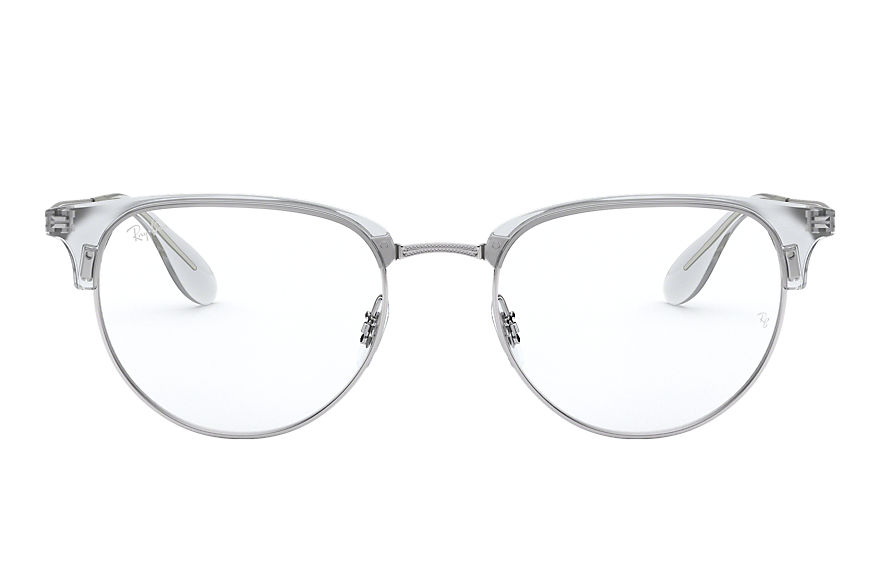 Ray-Ban  eyeglasses RX6396 MALE 004 rb6396 银色 8053672729214
