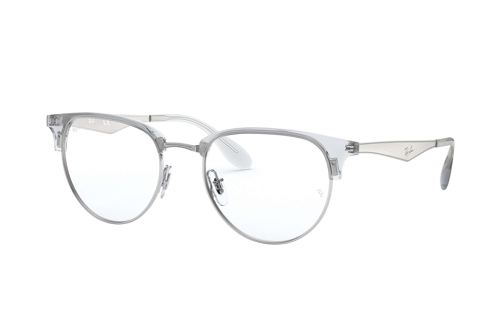 5e92c59d80c7 Ray-Ban prescription glasses RB6396 Silver - Metal - 0RX6396293653 ...