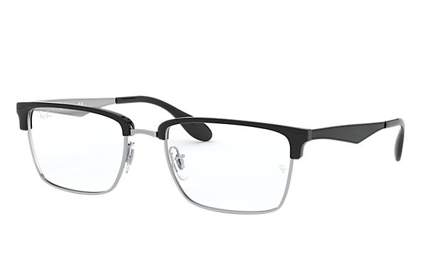 Ray-Ban 0RX6397-RB6397 Silver; Black,Silver OPTICAL