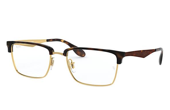 9163255e08b Ray-Ban prescription glasses RB6397 Gold - Metal - 0RX6397293354 ...
