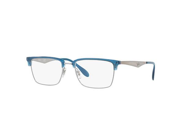 352bab99e0 Ray-Ban prescription glasses RB6397 Gunmetal - Metal - 0RX6397293454 ...