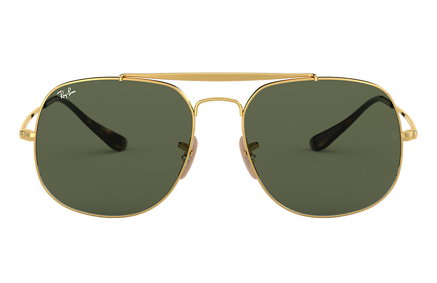 Ray-Ban  oculos de sol RB3561 MALE 007 general ouro 8053672730333
