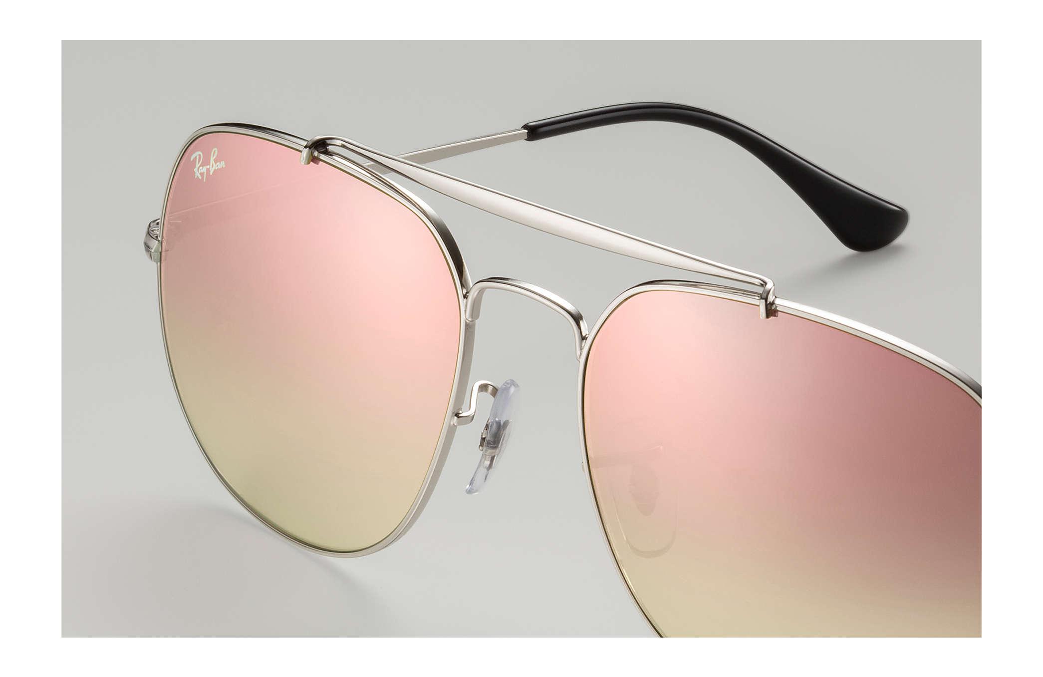 b39d803e2b Ray-Ban General RB3561 Silver - Metal - Copper Lenses - 0RB3561003 ...