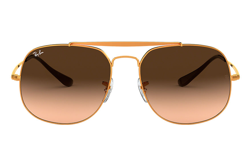 Ray-Ban  sunglasses RB3561 MALE 002 general brązowo miedziany 8053672730371