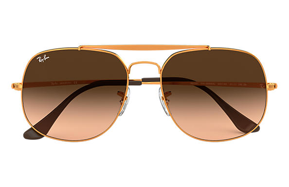 7c1faef5d5 ... Ray-Ban 0RB3561-GENERAL Bronze-Copper SUN ...