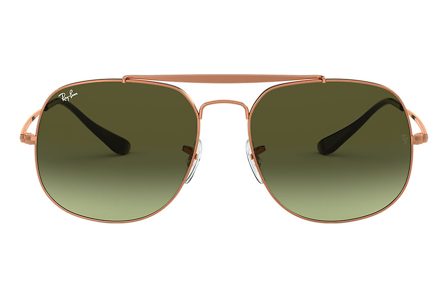 Ray-Ban  sunglasses RB3561 MALE 004 general brązowo miedziany 8053672730388