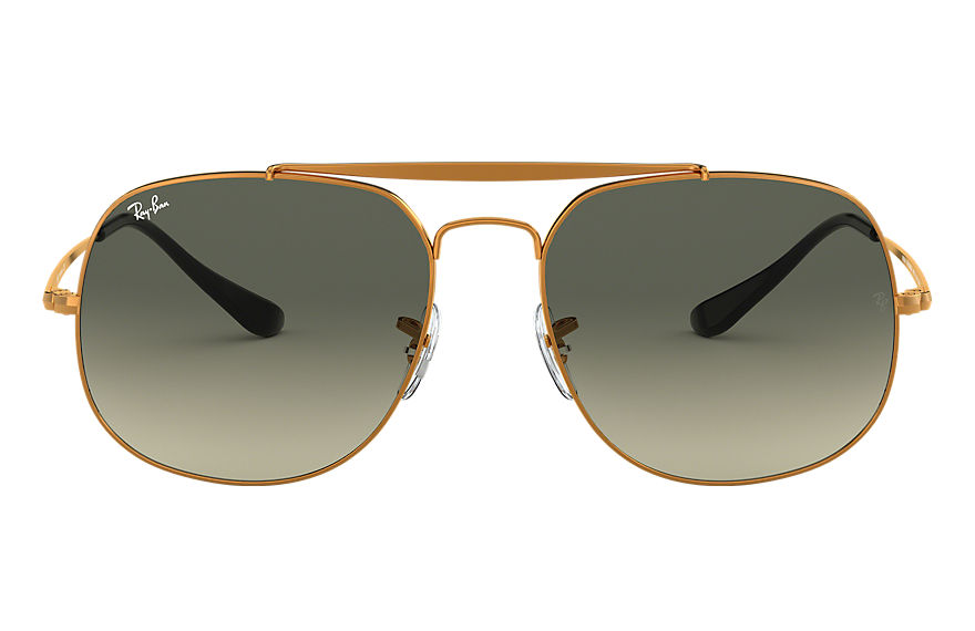 Ray-Ban  oculos de sol RB3561 MALE 006 general bronze acobreado 8053672730395