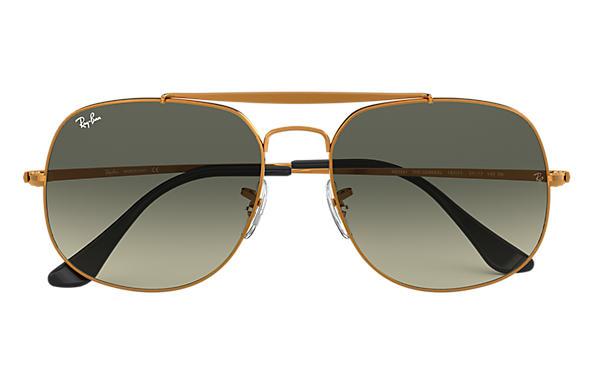 Ray-Ban General RB3561 Bronze-Copper - Metal - Grey Lenses ... 9b581b2fcb