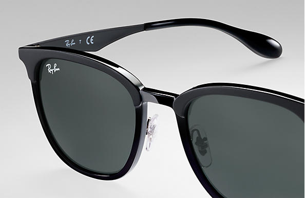 Ray-Ban RB4278 Noir - Injected - Verres Vert - 0RB427862827151   Ray ... f605d85771f4