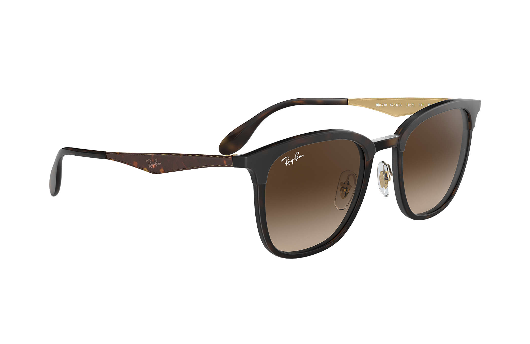 eead5896e81f6 Ray-Ban RB4278 Tortoise - Injected - Brown Lenses - 0RB427862831351 ...