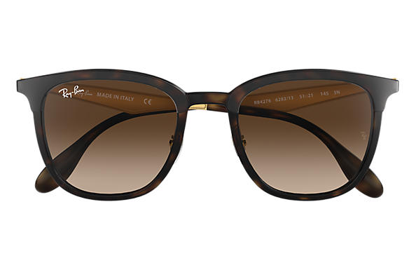 60bc99a6abd Ray-Ban RB4278 Tortoise - Injected - Brown Lenses - 0RB427862831351 ...