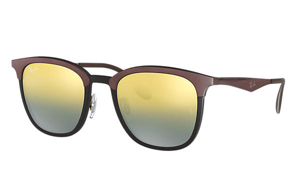 Ray-Ban 0RB4278-RB4278 Nero; Marrone,Canna di fucile SUN