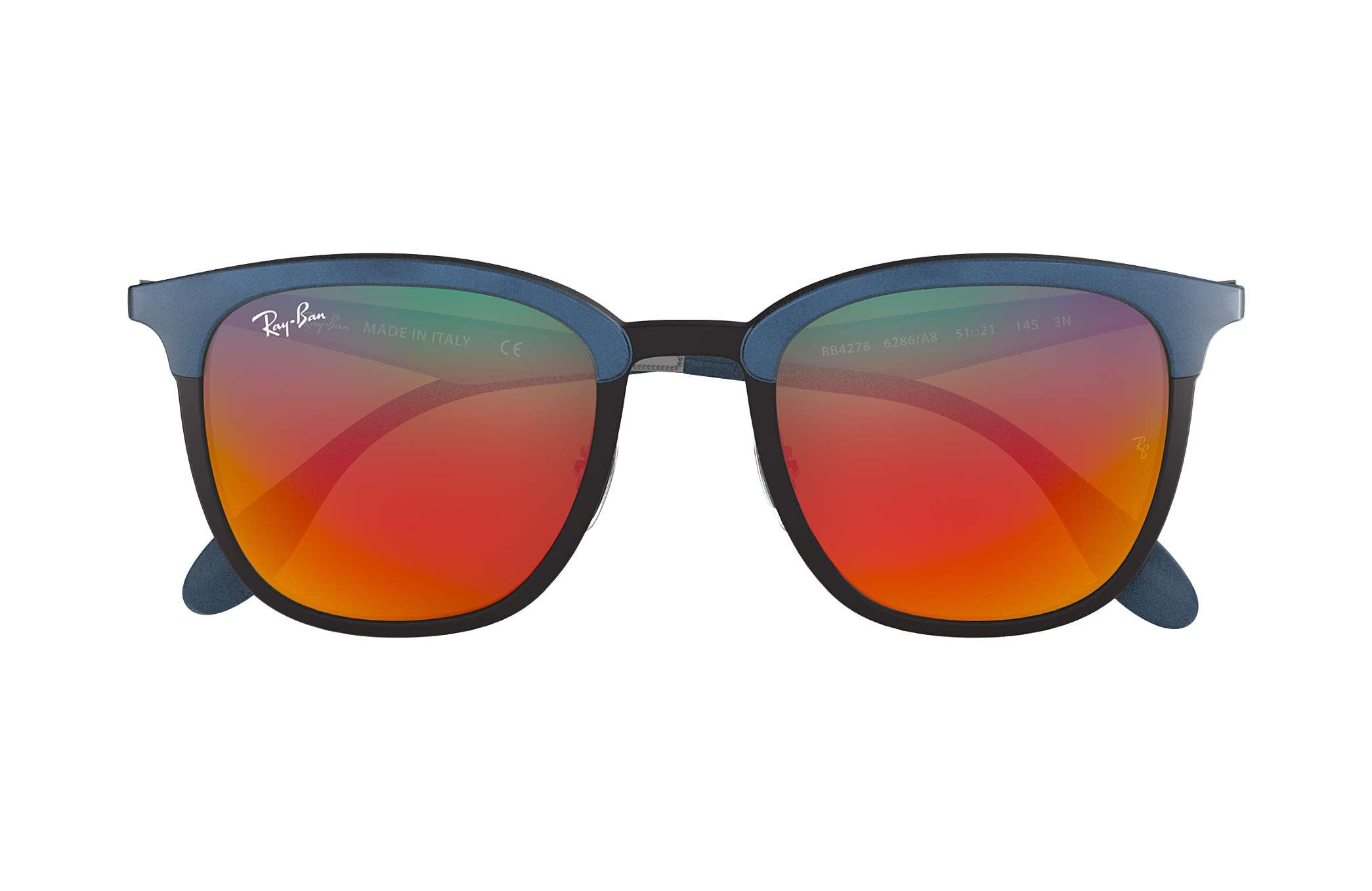 8ca0c6ebff2 Ray-Ban RB4278 Black - Injected - Orange Lenses - 0RB42786286A851 ...