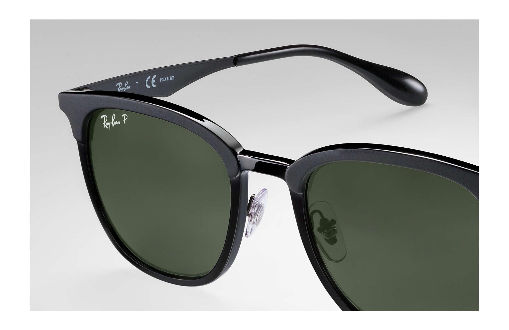 c80e49227c Ray-Ban RB4278 Black - Injected - Green Polarized Lenses ...