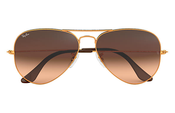 Ray ban aviator gradient PinkBrown Gradient RB3025 9001A5