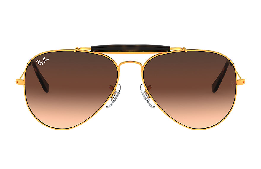Ray-Ban  sonnenbrillen RB3029 MALE 002 outdoorsman ii bronze kupfer 8053672731842