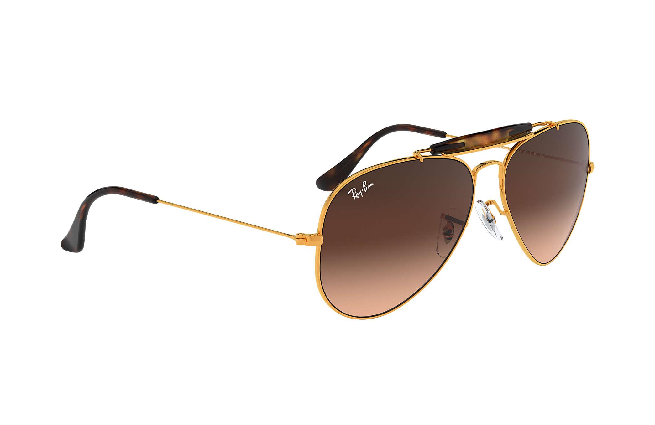 9bdf5971a6 Ray-Ban Outdoorsman Ii RB3029 Bronze-Copper - Metal - Pink Brown ...