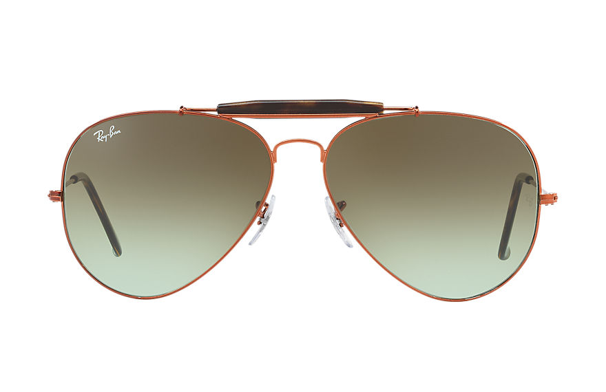 Ray-Ban  sunglasses RB3029 MALE 003 outdoorsman ii 브론즈 황동 8053672731880