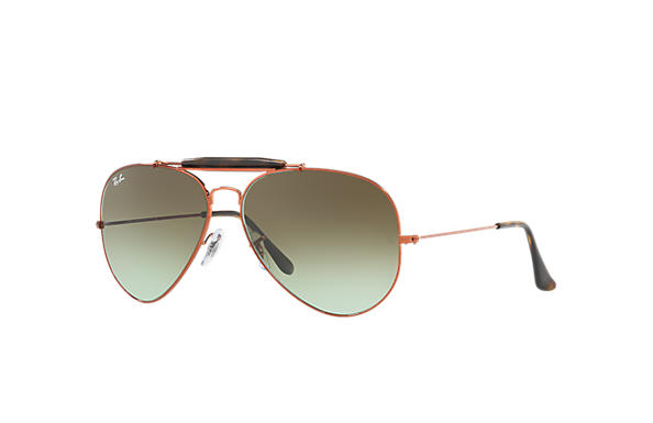 Ray-Ban 0RB3029-OUTDOORSMAN II Bronze-cuivre SUN