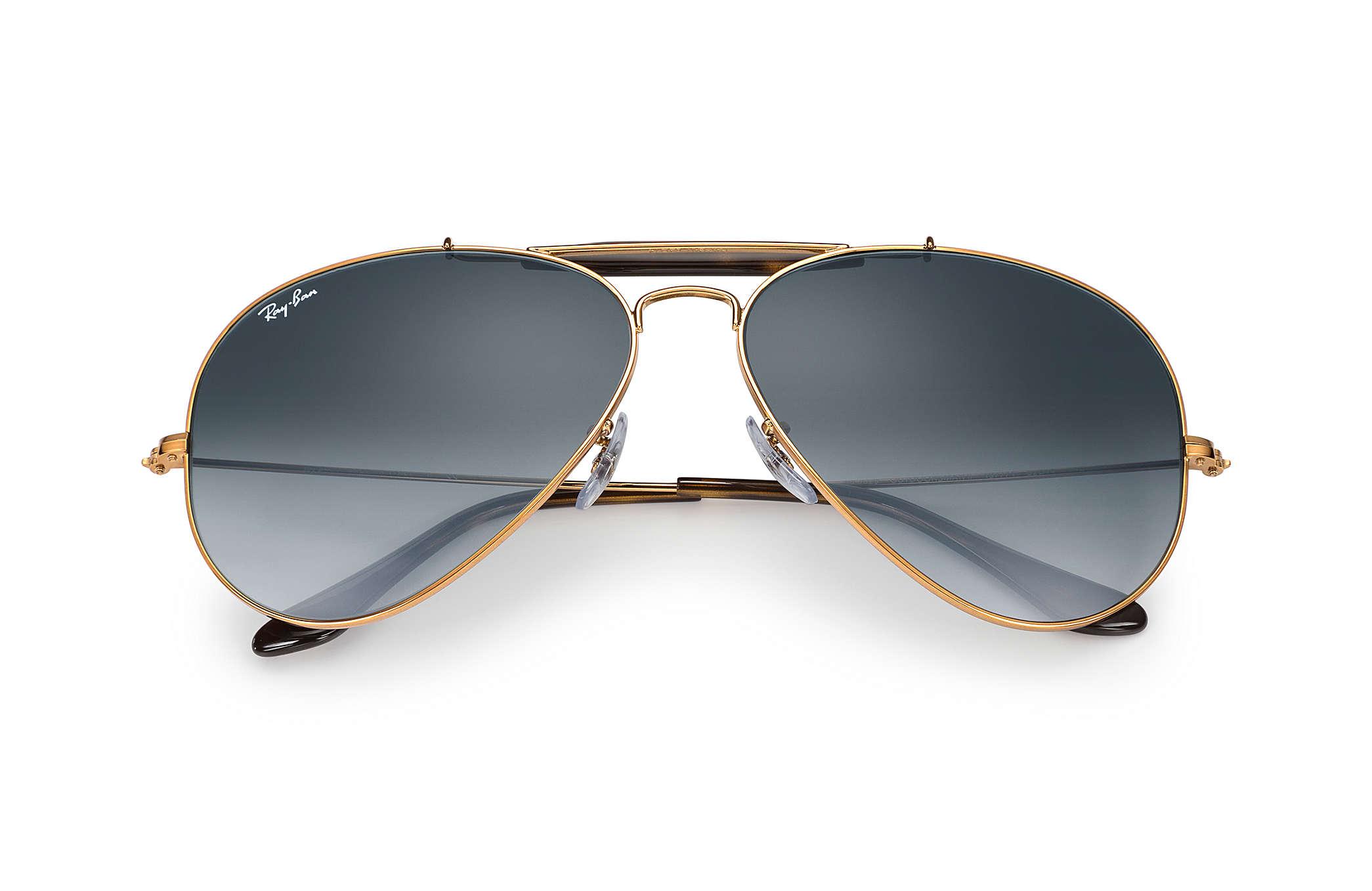 c450a7fc9 Ray-Ban Outdoorsman Ii RB3029 Bronze-Copper - Metal - Grey Lenses ...