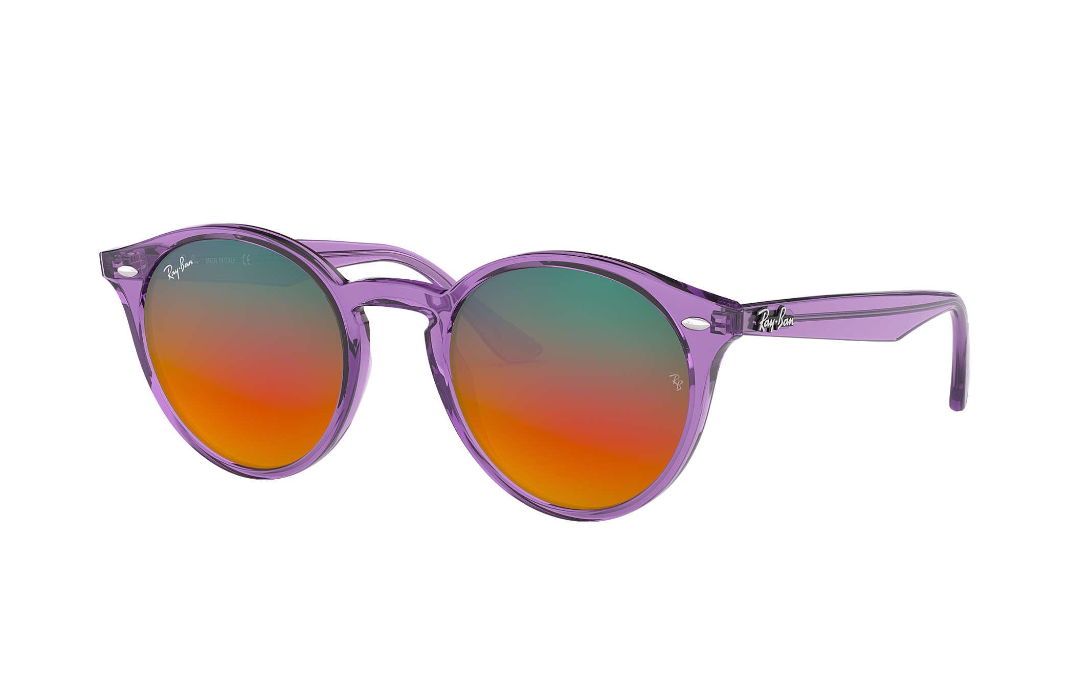 86b9e2dd59 Ray-Ban RB2180 Violet - Propionate - Orange Lenses - 0RB21806280A851 ...