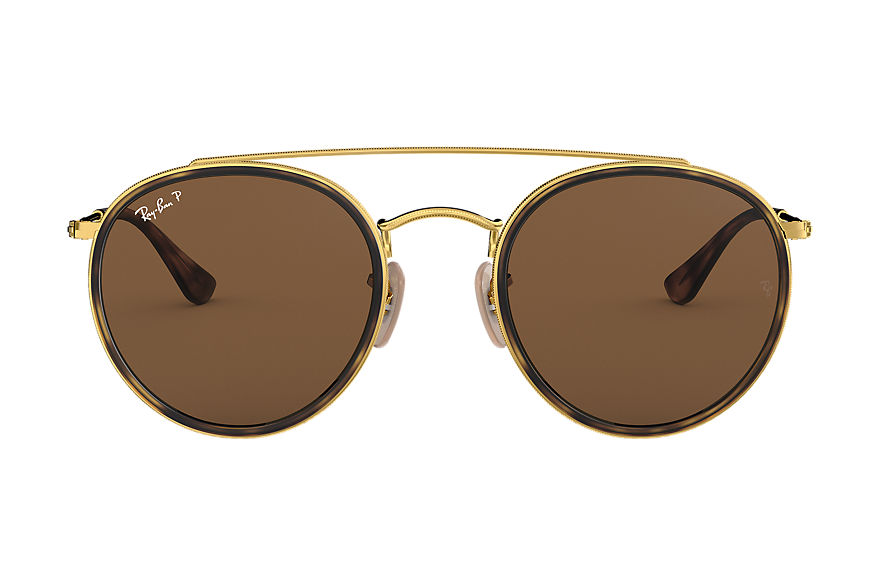 Ray-Ban  sonnenbrillen RB3647N UNISEX 003 round double bridge gold 8053672737660